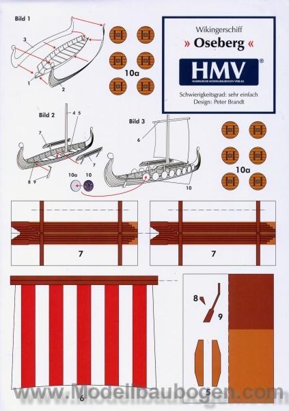 Viking ship - www.papermodelsheet.com